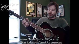 Superman (Scrubs Theme) - Lazlo Bane - Lefty Beginner Acoustic Guitar Lesson