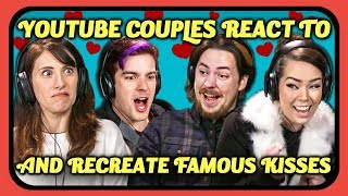 Video YouTube Couples React & Recreate Kiss Scenes (The Office, Spider-Man, More) MP3, 3GP, MP4, WEBM, AVI, FLV September 2019