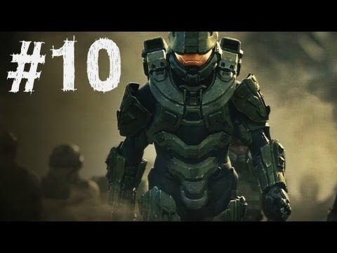 Halo 4 Gameplay Walkthrough Part 10 - Campaign Mission 5 - Reclaimer (H4) (видео)
