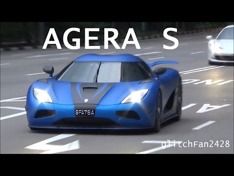 agera - Maxson Goh Films The SGD$5.3 Million Koenigsegg Agera S Arrive at Fullerton Hotel Singapore, park, and depart at Night. This is currently Singapore's fastest...