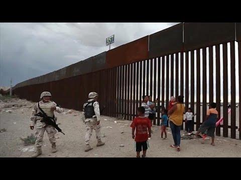 USA/Mexiko: Trumps Mexiko-Grenzzaun »verschaukelt«