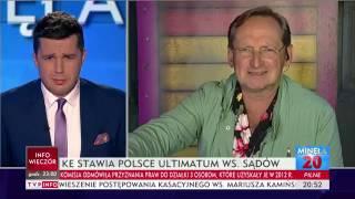 CEJROWSKI W TVP INFO: NIECH NAS WYRZUCĄ Z UE. DAMY RADĘ SOBIE SAMI
