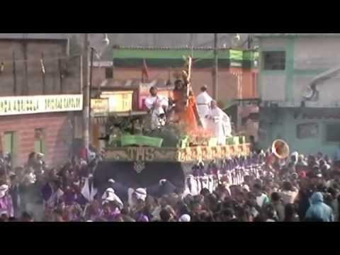 San Martin Jilotepeque, Solemne Procesión Jesus Nazareno Viernes Santo 2012