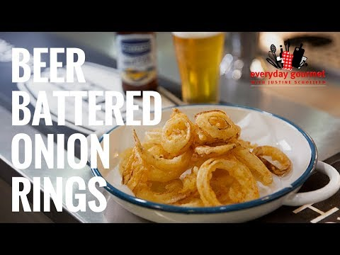Beer Battered Onion Rings | Everyday Gourmet S7 E80