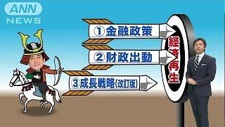 """アベノミクス""""第三の矢""""遂に閣議決定へ。その経済再生に効果とは?(ニュース)"""