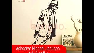Adhesivo Michael Jackson Anti-Gravity