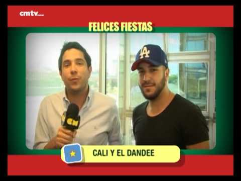 Cali Y El Dandee video Saludos  - Fiestas 2014