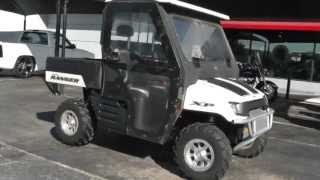 8. 391191 - Used 2007 Polaris Ranger XP Side-by-Side For Sale