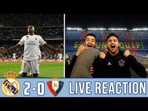 VINICIUS x RODRYGO GUIDE US TO THE TOP OF THE LEAGUE | REACTION - REACCIONES