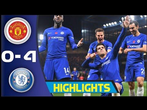 Manchester United vs Chelsea 0-4 All Goals & Extended Highlights - Resumen (2016_2017)2017)