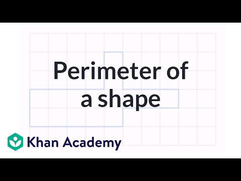 how to work out the perimeter of a semicircle