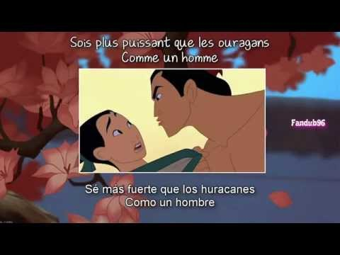 Comme un homme (I'll make a man out of you) [Sub & Traducida] {Mulan}