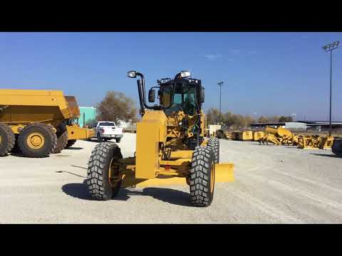 CATERPILLAR MOTONIVELADORAS 140M2 equipment video sJqCIelQet4