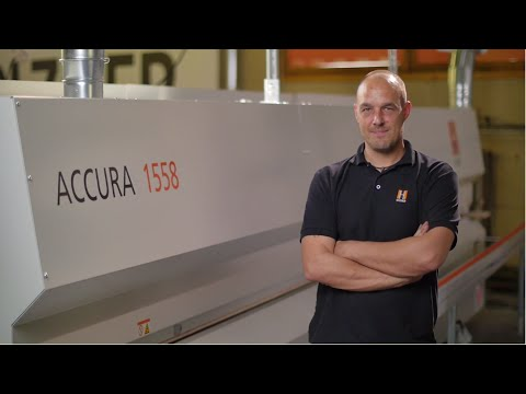 HOLZ-HER ACCURA - 100 procent repeatable accuracy and multifunctional