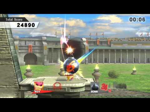 SSB4 Target Blast Stage 3 Perfect Score with Roy (374,330)