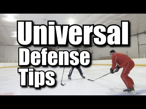 3 Universal Defensive Hockey Tips
