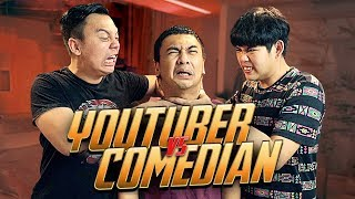 Video Q&A YOUTUBER vs COMEDIAN w/ RADITYA DIKA MP3, 3GP, MP4, WEBM, AVI, FLV Februari 2018