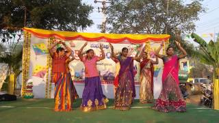 Video Kovvali Sankranti Sambaralu-High School Students Dance MP3, 3GP, MP4, WEBM, AVI, FLV Agustus 2018