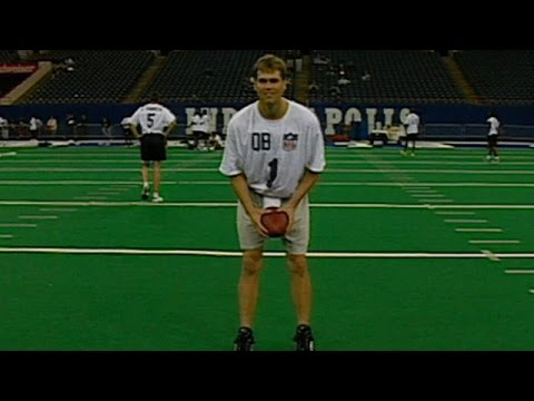 Tom Brady au Combine de 2000