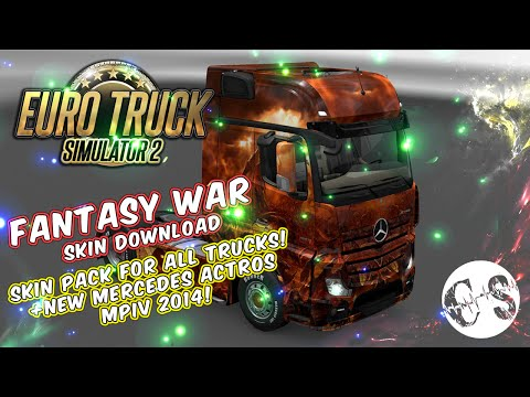 Fantasy War Skin Pack for All Trucks