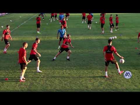 Млада фудбалска репрезентација Србије игра квалификациону утакмицу против Бугарске у Горњем Милановцу