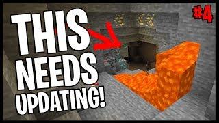 I Hope They Update Caves In 1.15... | Minecraft Village & Pillage Challenge | #4