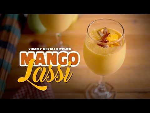 (Easy Mango Lassi Recipe | Yummy Nepali Kitchen - Duration: 2 minutes, 4 seconds.)
