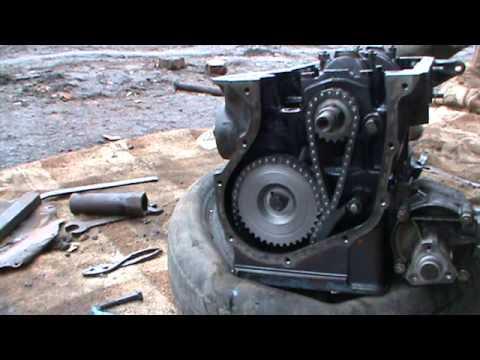 сборка двигателя ваз 2106 нива часть 2 сделай сам