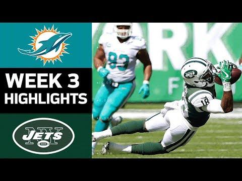 Video: Dolphins vs. Jets   NFL Week 3 Game Highlights
