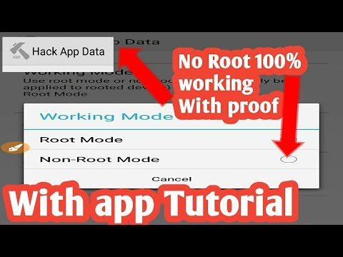 Hack Any Games With HACK APP DATA - No Root(2018)