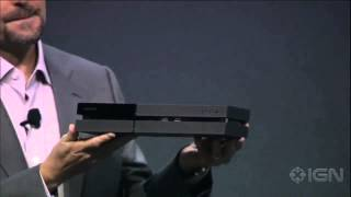 The PlayStation 4 Console Revealed - E3 2013 Sony Conference - YouTube