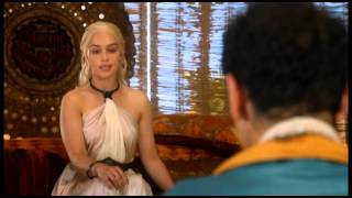 Song- Two Steps from Hell- Atlantis Dany likes giving speeches. Often the same ones. Sometimes in different languages. God, we love her.