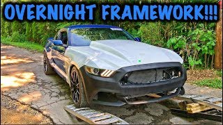 Rebuilding A Wrecked 2017 Mustang GT Part 7
