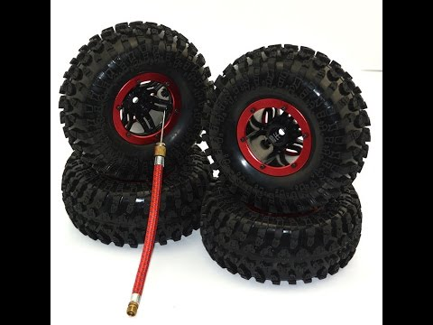 Bishop's RC Crusade - 2.2 Austar Air Filled Beadlock Wheels & Tires - Axial Wraith First test