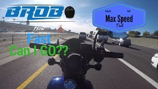 9. Yamaha Bolt Max Speed Test