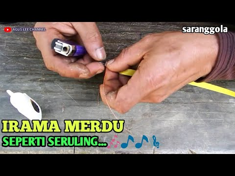 cara membuat suara sendaren pitu pitu / how to make sendaren