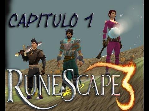 RuneScape 3  Gameplay | Capitulo 1 | Con 3KINGSforTROLL y Lordlarpus1 comentando xD