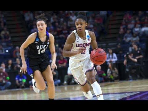 UConn Women's Basketball Highlights v. Duke 03/24/2018 (NCAA Tournament Sweet Sixteen)