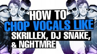 How To: Vocal Chops Like a Pro [FREE ABLETON RACK]