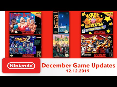 NSwitch Online NES/SNES更新