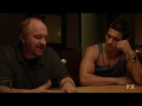 Louie FX: Louis CK awkwardly explains he's not gay to Ramon