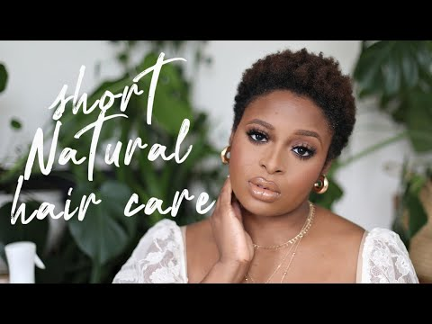 How to care for short natural 4c hair (twa)