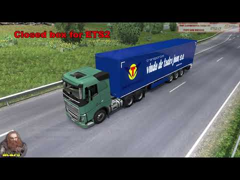 AI ETS2 Global Trailers Rckps v1.2 For 1.36.x