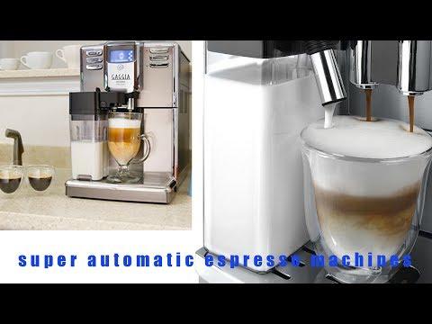❥☕the ten best Super Automatic Espresso Machines review