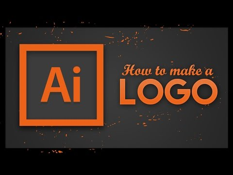 Logo Tutorial - Adobe Illustrator CC | How To Make A Logo In Illustrator 2017