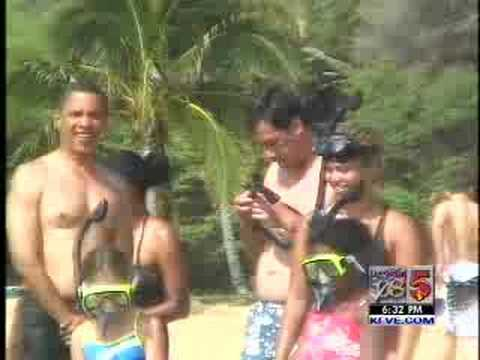 Video de las vacaciones de obama en hawaii