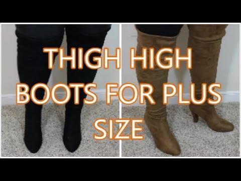 THIGH HIGH BOOTS | PLUS SIZE | AMI Clubwear