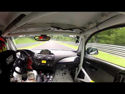NÜRBURGRING VLN 3 - Onboard BMW 235i Scheid Motorsport 20.06.2015 (видео)