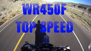 9. Yamaha WR450F TOP SPEED 98Mph  (that's all she got)