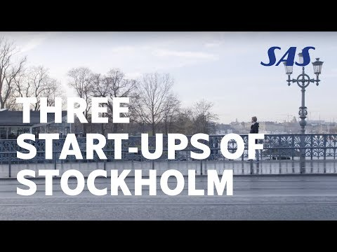 Three start-ups of Stockholm